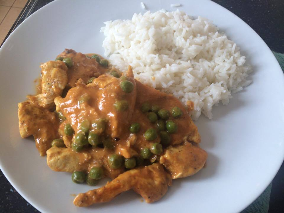 Thats Easy Peasy Chicken In Creamy Curry