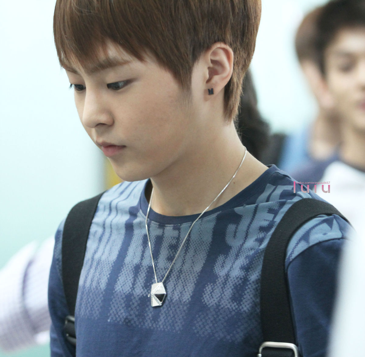 Xiumin: Entertainment Booth: EXO At LAX / InCheon Airport Photos