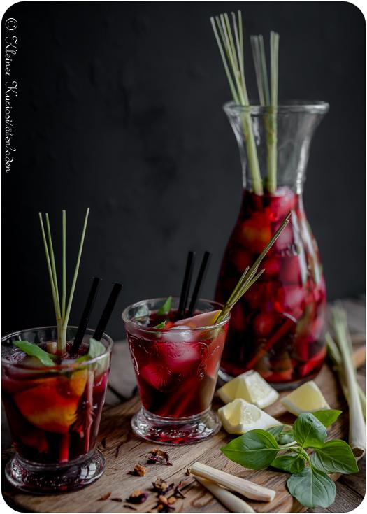 Kalimba Eistee mit Zitronengras & Thai-Basilikum