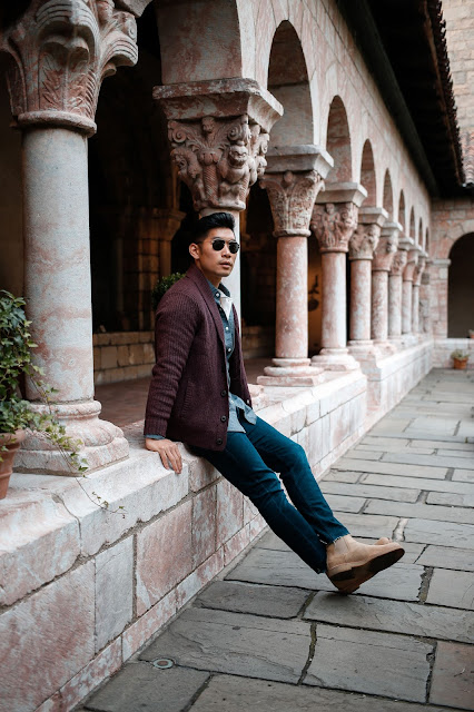 Essential Fall Casual Layering Leo Chan Levitate Style