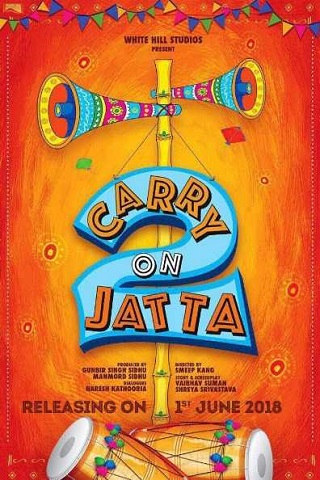 Carry on Jatta 2 (2018) Punjabi 800MB pDVDRip Download