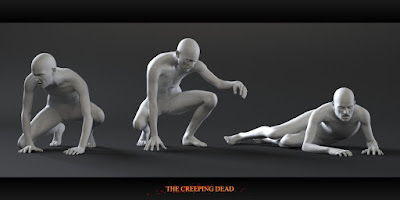 Zombies: The Creeping Dead Poses