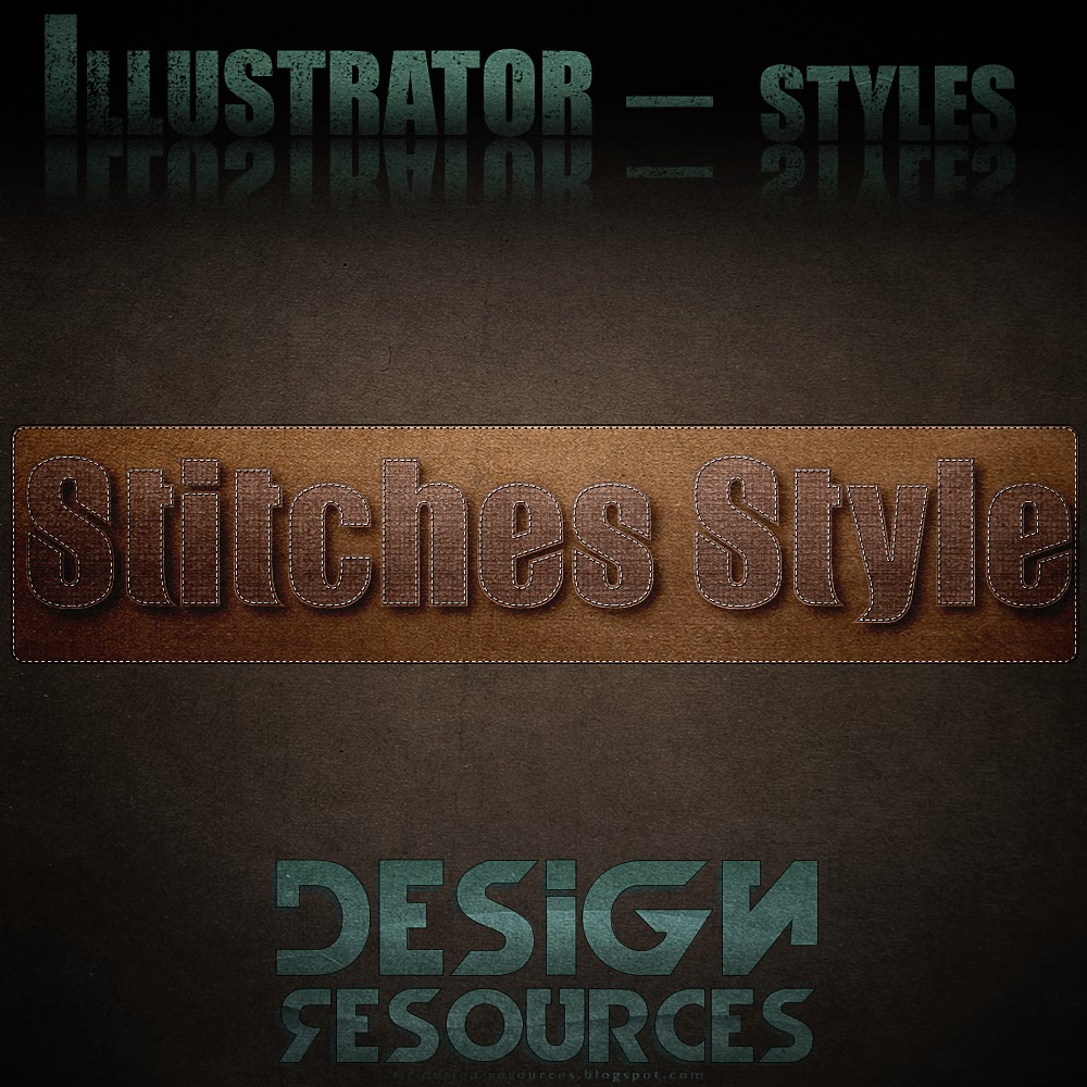 Stitches Illustrator Graphic Style