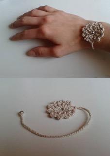 braccialetto uncinetto
