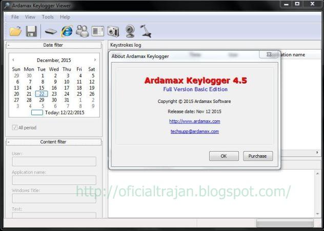 Ardamax.Keylogger 4.5 setup + crack