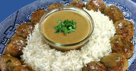 ... Bite: An Encore Performance - Asian-Style Meatblalls with Peanut Sauce
