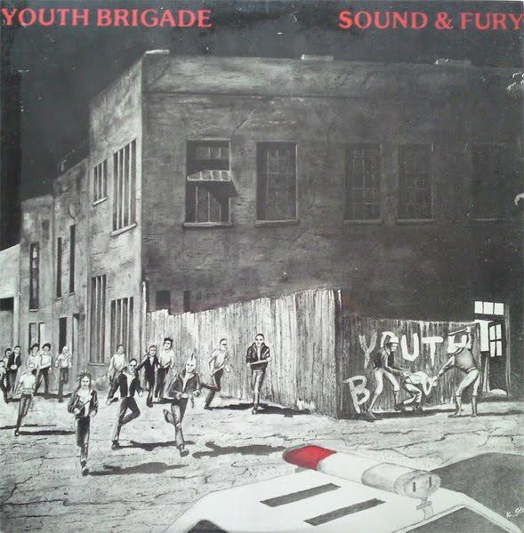 DOWN UNDERGROUND: Youth Brigade - Sound & Fury LP '83