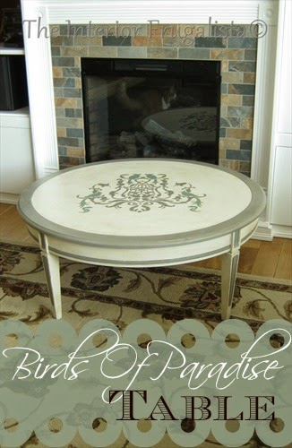 Birds of Paradise Coffee Table {Ninth Most Viewed Post}