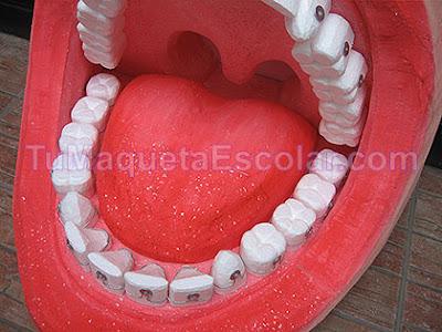 boca con dientes