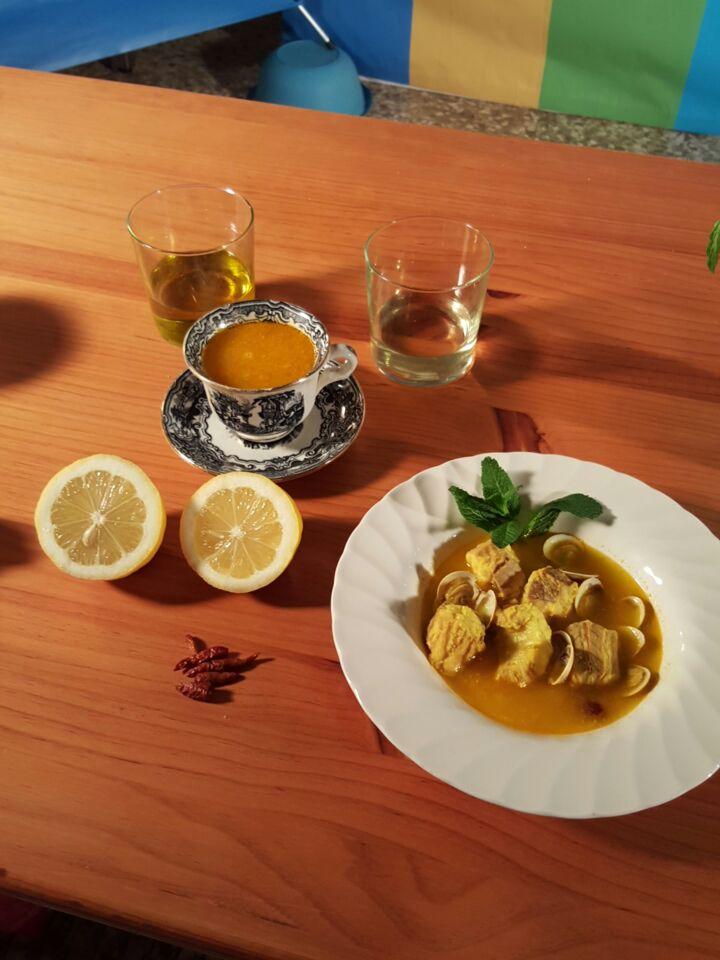 Mi cocina video receta caldillo de pintarroja for Mi cocina malaga