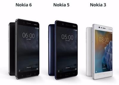Nokia 3 vs Nokia 5 vs Nokia 6