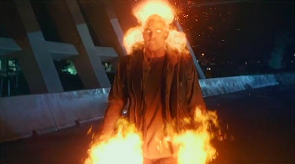 Firestorm en The Flash 1x08 - The Flash Vs Arrow