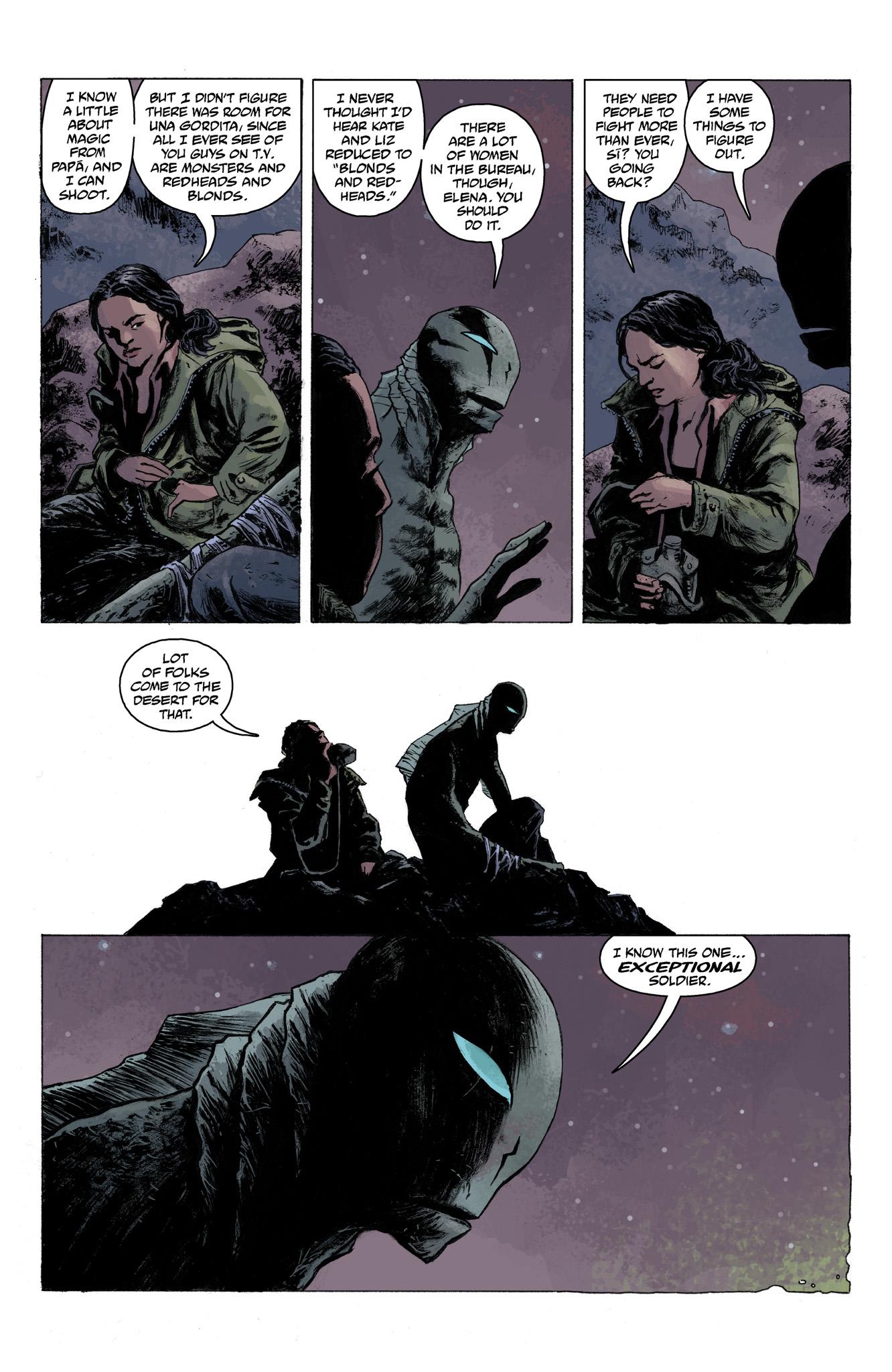 Read online Abe Sapien comic -  Issue #6 - 14