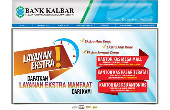 Website Resmi Bank Kalbar