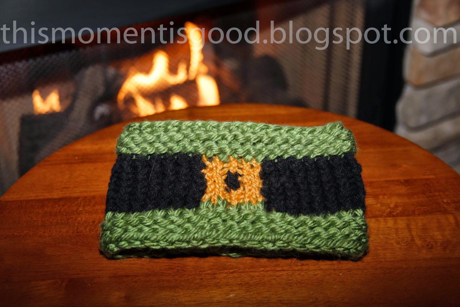 LOOM KNIT SAINT PATRICK\'S DAY HEADBAND... | Loom Knitting by This ...