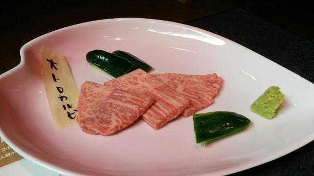 長崎県西海市焼肉倶楽部の肉