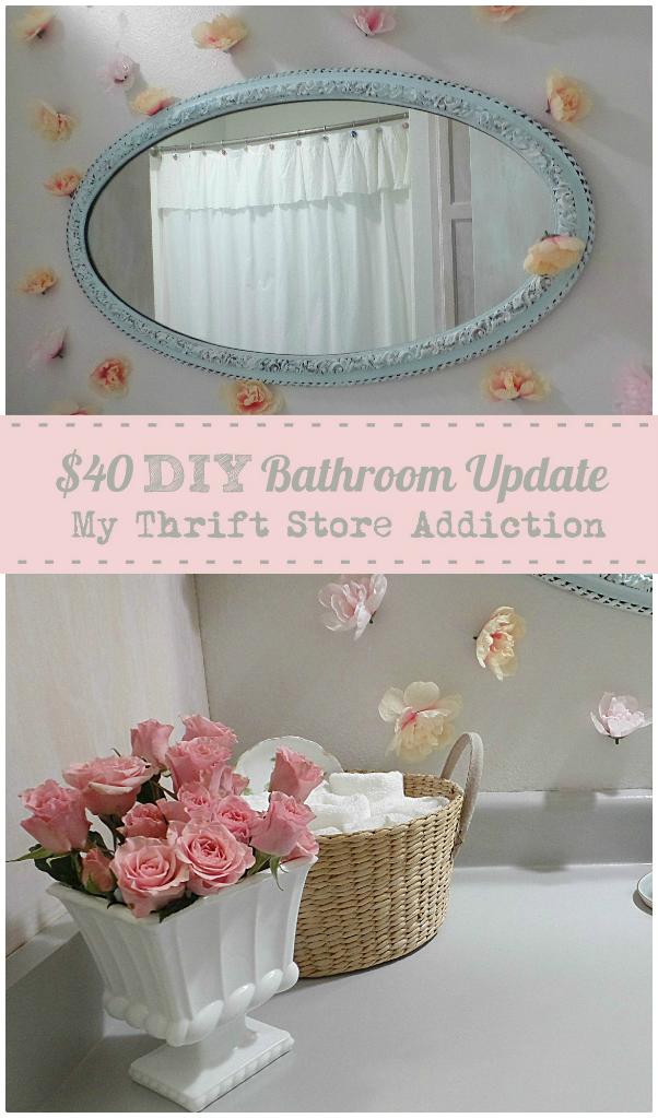$40 DIY bathroom update