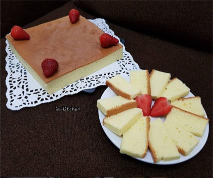 Gambar Condensed Milk Cotton Cake