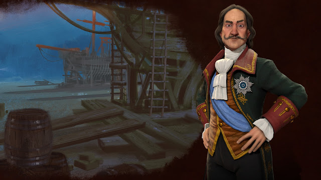 Screenshot of Peter the Great in Sid Meier's Civilization VI