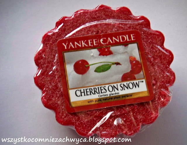 Yankee Candle, Cherries on Snow