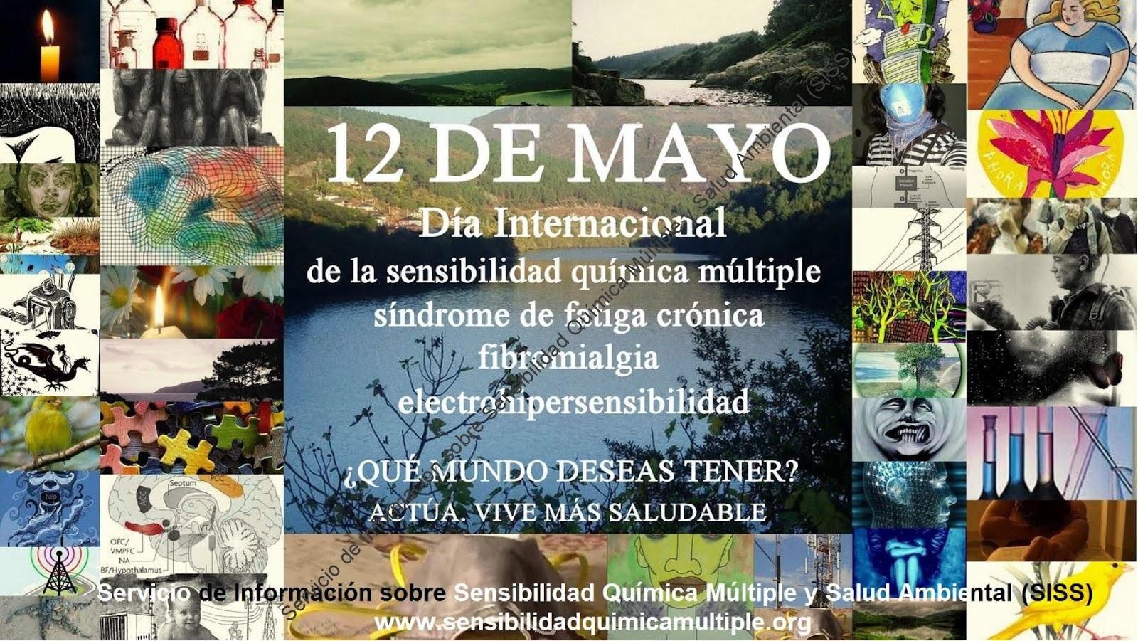 12 DE MAYO.- Día internacional de la sensibilidad química múltiple ...
