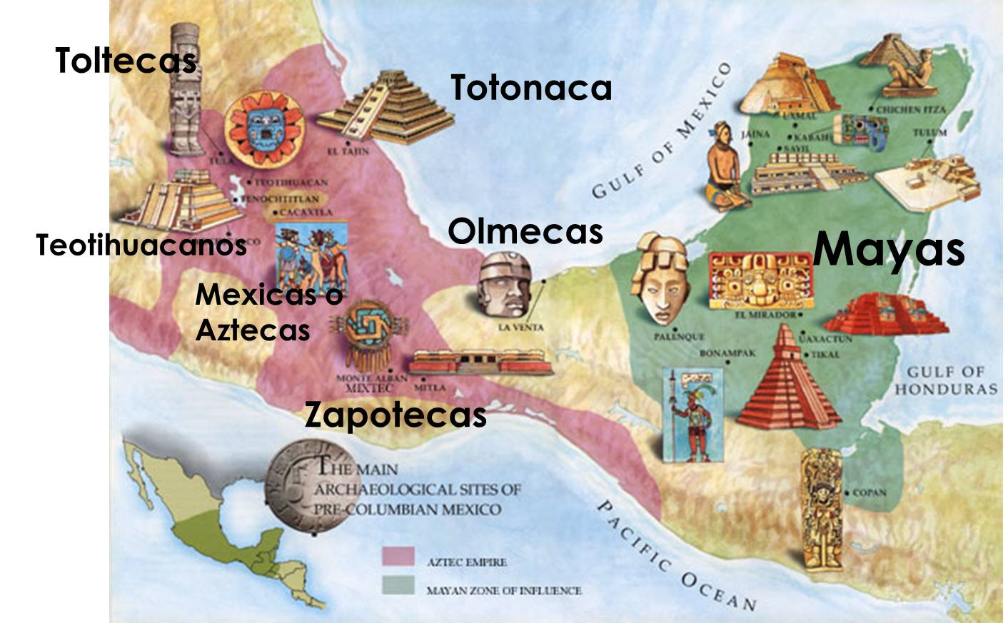 El Arte De Las Culturas Formativas De Mesoamérica: Civilizaciones Mesoamericanas Historia Sec. 310
