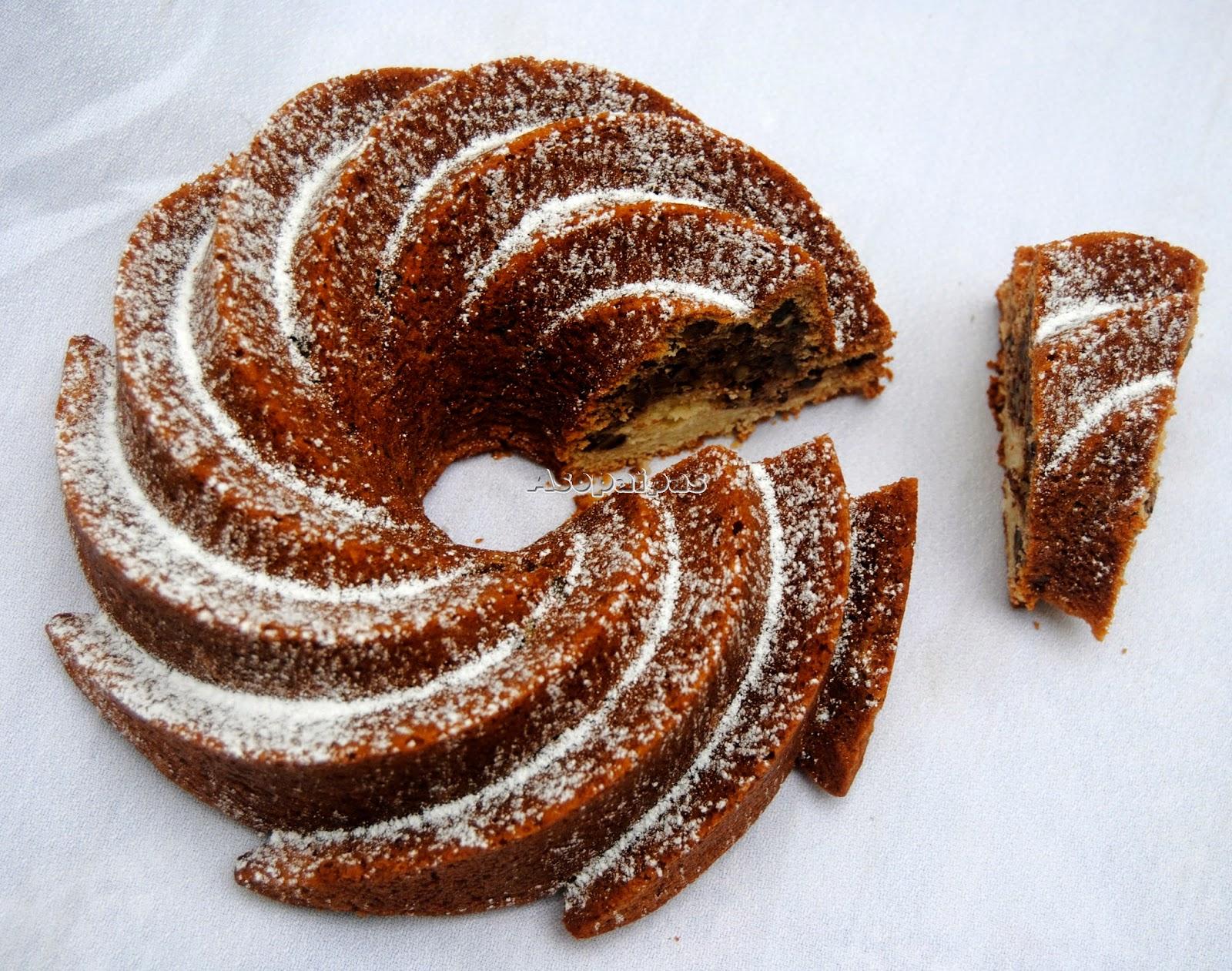 Bundt Cake de Jarabe de Arce y Pecanas (Maple Pecan Bundt Cake)