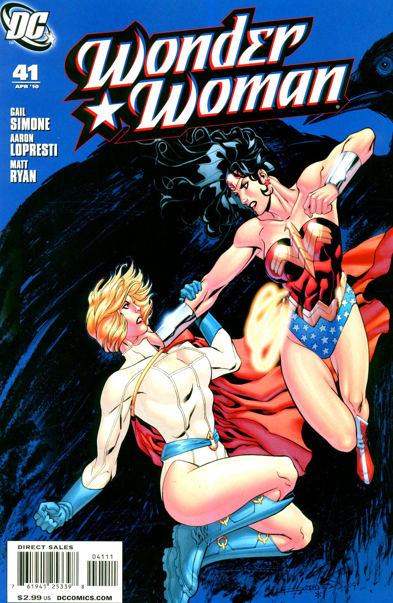 Read online Wonder Woman (2006) comic -  Issue #41 - 1
