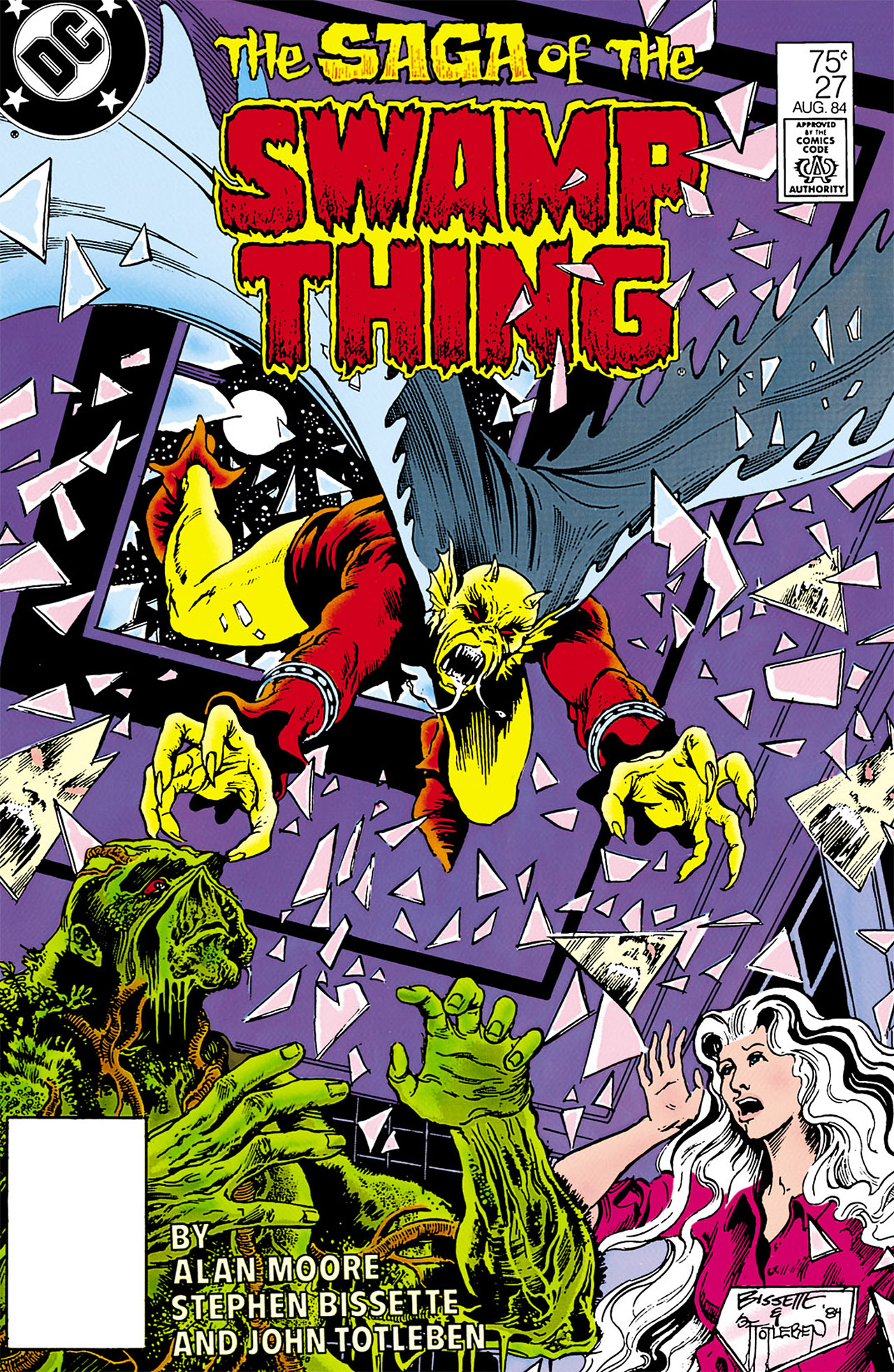 Swamp Thing (1982) Issue #27 #35 - English 1