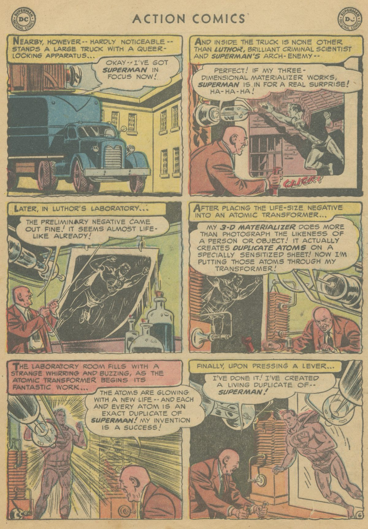 Read online Action Comics (1938) comic -  Issue #199 - 9