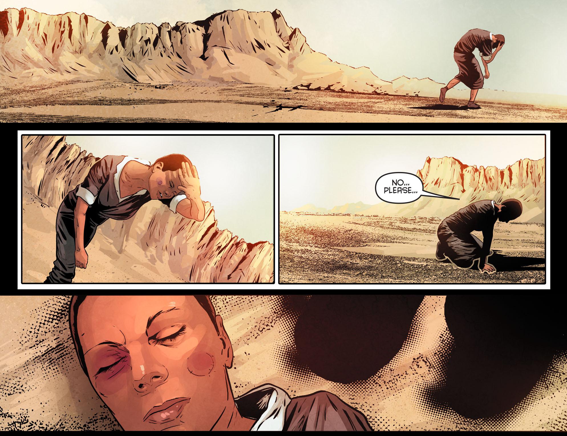 Read online Arrow: Season 2.5 [I] comic -  Issue #11 - 21