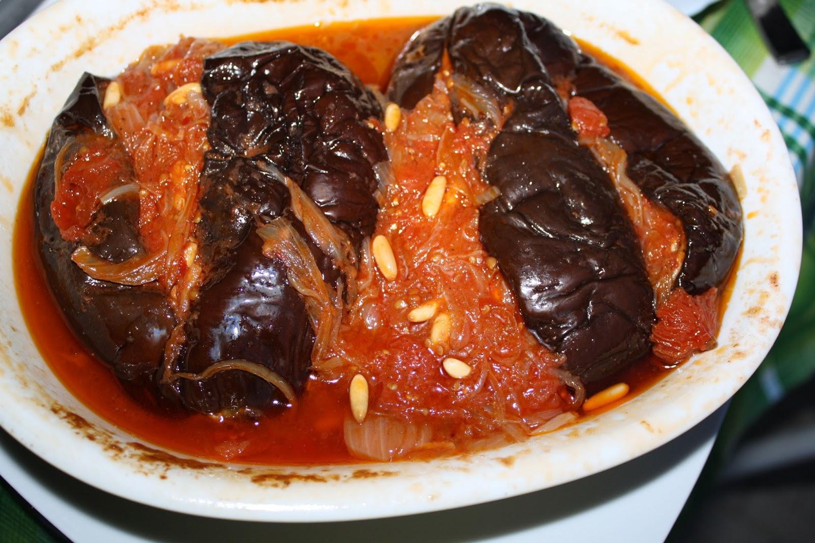 La Cuciniera Moderna Cucina turca melanzane dellImam svenuto