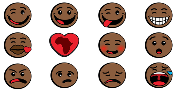 Black and African emojis