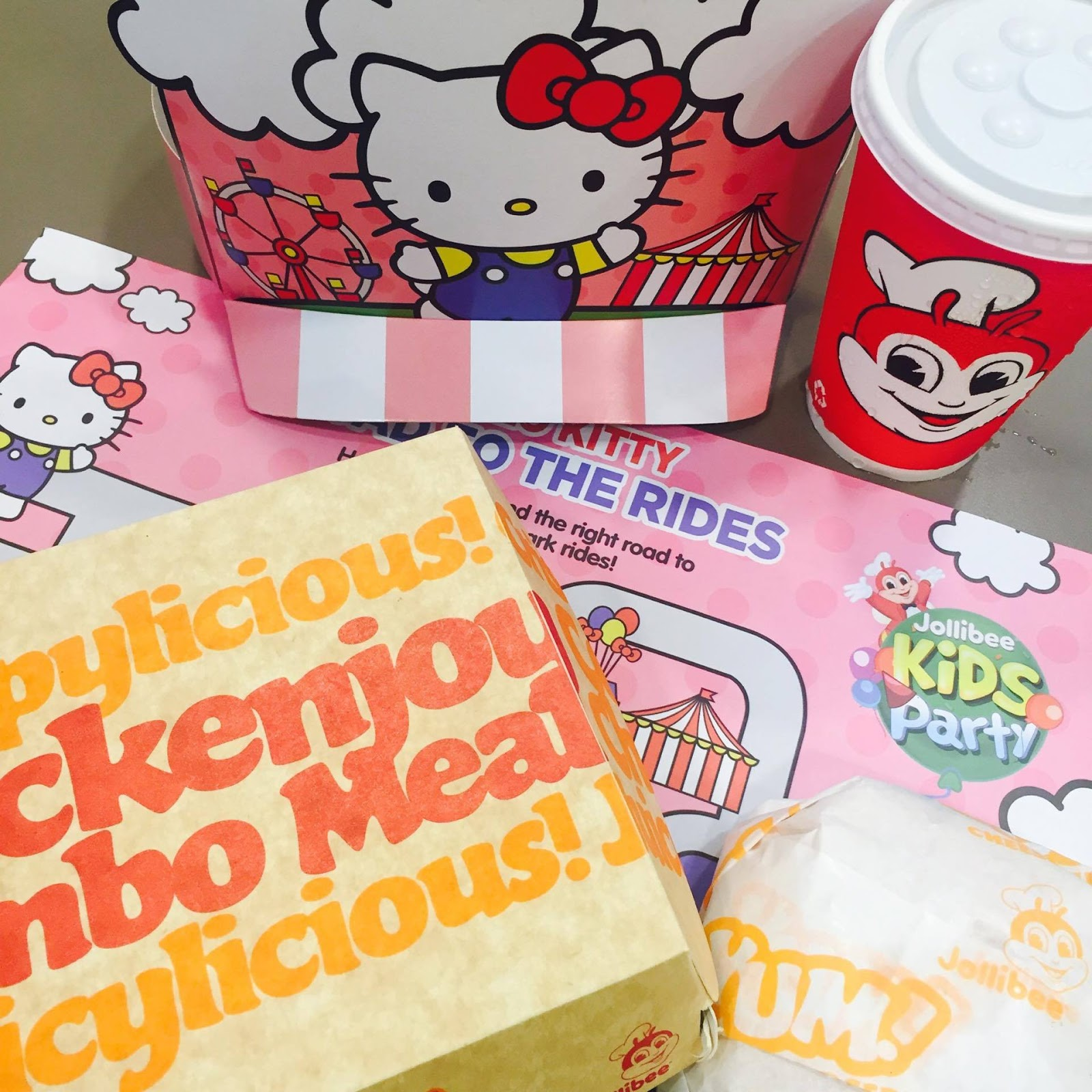 Jollibee Introduces Hello Kitty Fun Carnival Party