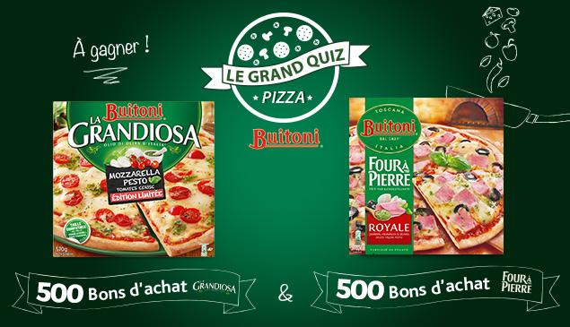 #JeuConcours 1000 bons d'achats Buitoni de 4€ à gagner !