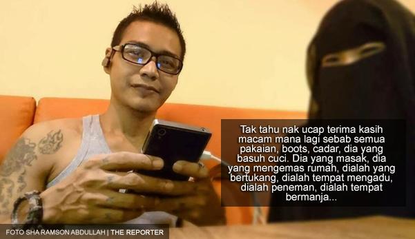 'Abang nikah dengan sayang sebab nak buat isteri, bukan nak buat orang gaji'