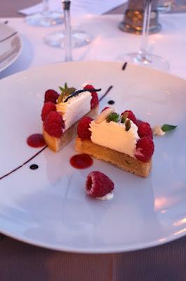 Nachtisch im Restaurant Le Provencal, Giens