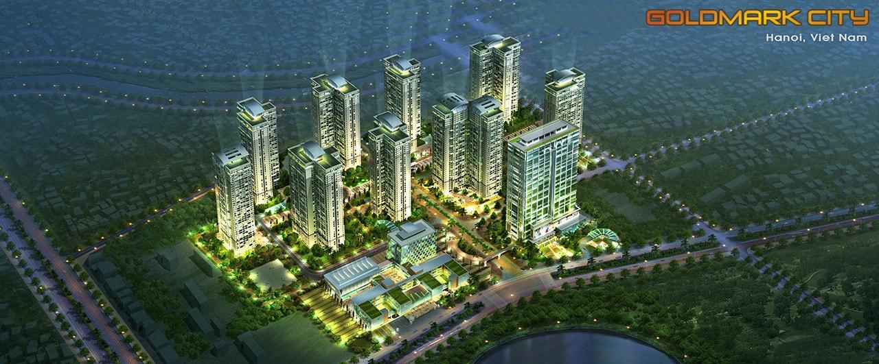 Tổng thể dự án Goldmark City