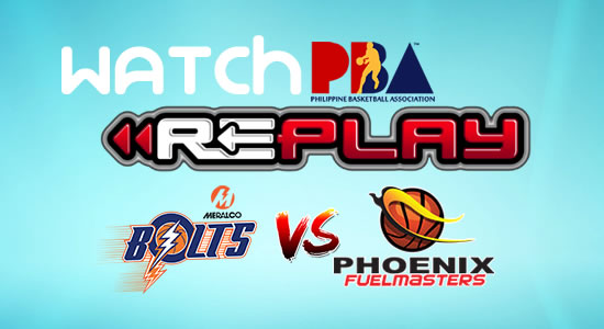 Video List: Phoenix vs Meralco game replay February 14, 2018 PBA Philippine Cup