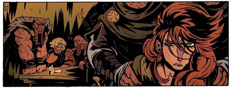 """""""Princesa guerrera"""" del cómic de Grafito Editorial """"El Rey Araña"""""""