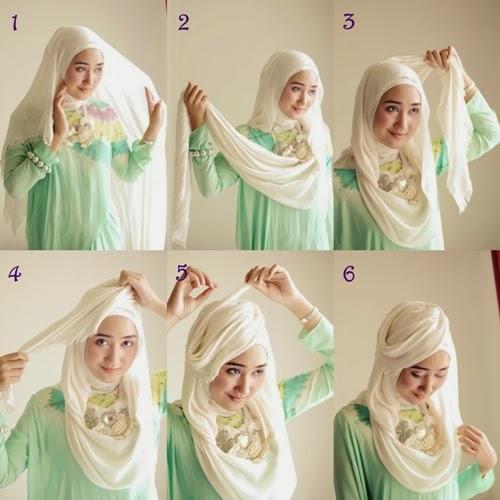 Cara memakai hijab cantik formal elegan ala dian pelangi terbaru