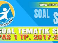Soal+Kunci Jawaban Tematik SBdP Penilaian Akhir Semester 1 Kelas 1 T.P 2017/2018