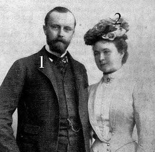 Leopold IV. Julius Bernhard Adalbert Otto Karl Fritz Georg Gustav zur Lippe-Prinzessin Bertha von Hessen-Philippsthal-Barchfeld