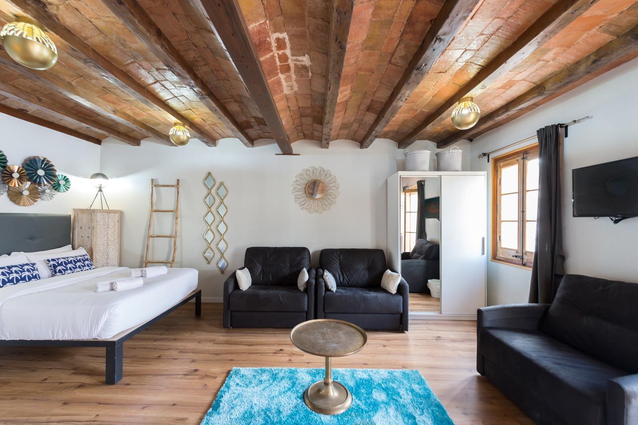 Un vivace appartamento sulla Rambla