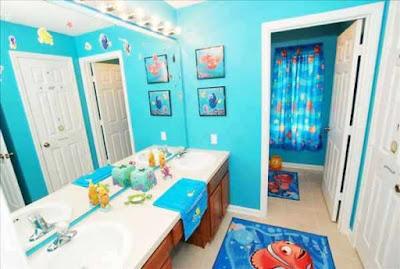 Cómo decorar un baño para niños (II)