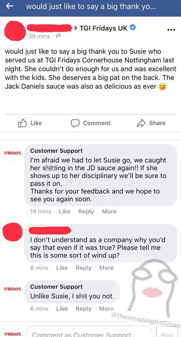 30 Incredibly Funny Times A 'Customer Support' Guy Trolled Customers