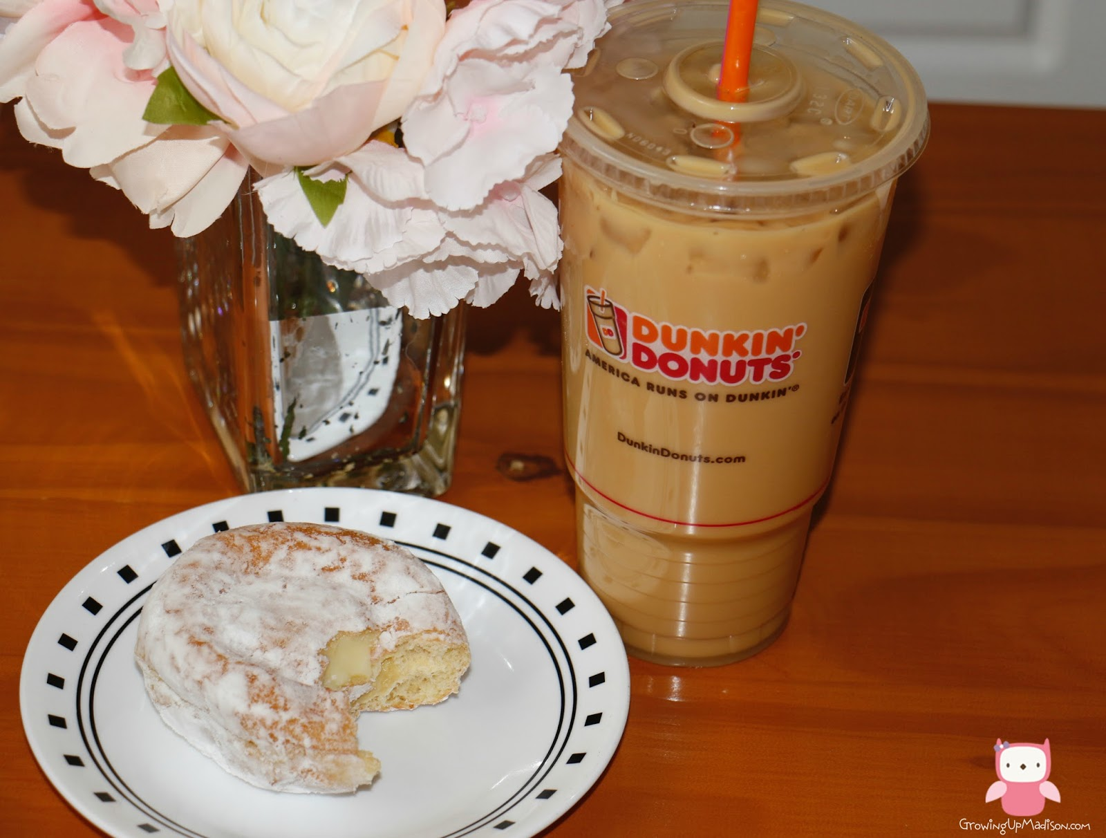 This Post is Just Too Sweet - Dunkin' Donuts Pistachio ...