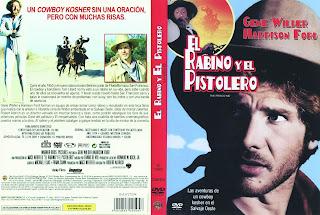 Carátula dvd: El rabino y el pistolero