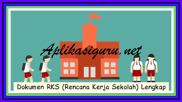 Download Aplikasi Dokumen RKS (Rencana Kerja Sekolah) Lengkap Terbaru Versi 2017