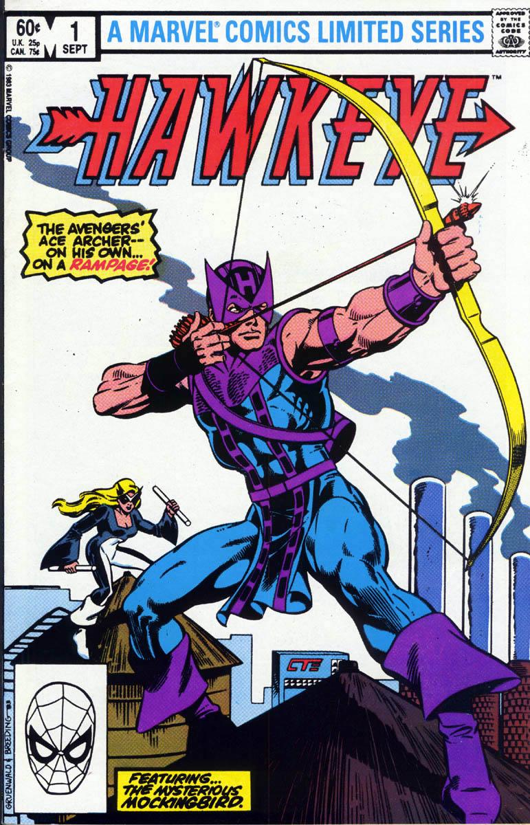 Hawkeye (1983) Issue #1 #1 - English 1